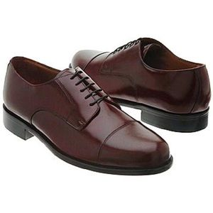 Bostonian Classics Burgundy Leather Dress Oxfords